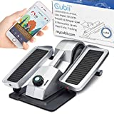 Cubii Under Desk Elliptical Machine - Exercise and Rehabilitate at Home or Office, Bluetooth Exerciser Syncs with Fitbit, Android, and iPhone