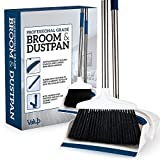Best Broom And Dustpans - Valup Broom and Dustpan Set - Sturdy Long Review
