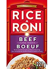 RICE-A-RONI Beef Flavoured Rice, 227 Grams (Pack of 12)