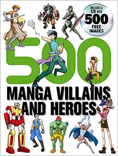500 Manga Villains and Heroes: Amazon.es: Yishan Li: Libros ...