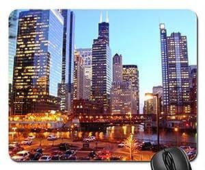 Chicago USA Mouse Pad, Mousepad (Modern Mouse Pad)