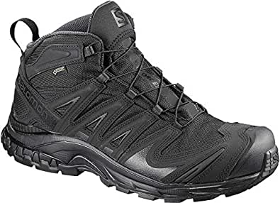SALOMON XA Forces Mid GTX, Mens, Military and Tactical Boot, Black, 5