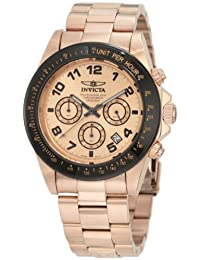 Invicta Men's Speedway 18k Rose Gold Ion-Plated Stainless Steel Watch INVICTA-10705