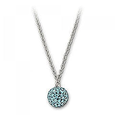 21d82da49 Swarovski 1106429 Pop Blue Indicolite Necklace: Amazon.co.uk: Jewellery