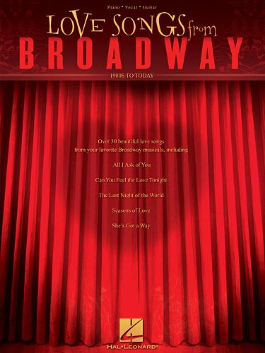 Download Love Songs from Broadway: 1980s to Today PDF