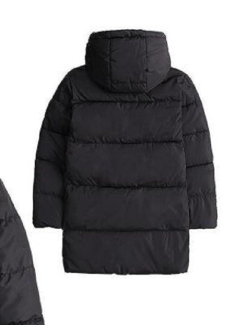 Ruhua Baby Boys Lightweight Winter Warm Down Puffer Jacket Hooded Coat