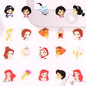 Pegatinas calendario princesas Disney Ariel Alicia de