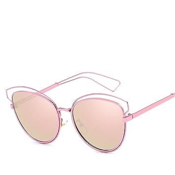 DYEWD Gafas de sol para Mujer,Gafas de Sol Nuevas,Gafas de ...