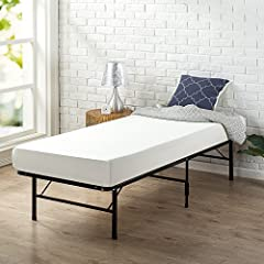 The 6 inch narrow twin memory foam Green tea mattress is a new cozy size for tight spaces. Measuring 30 inches wide by 75 inches, Cot Size, this new narrow twin size provides memory foam conforming comfort. The airflow high-density foam layers provid...