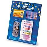 Noris Spiele 606521014 - Euro Spielgeld Scheine + Münzen