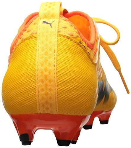 ... Puma Mens Evopower Kraft 2 Fg Fotballsko Ultra Gul-orange Peacoat-klovn  Fisk ...