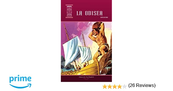 La Odisea: Volume 14 (Ariel Juvenil Ilustrada): Amazon.es: Homero, Tarquino Mejía, Rafael Díaz Ycaza, Nelson Jácome, Ana Bergholtz: Libros