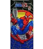 Boy's Spiderman Beach Towel-28Wx58L