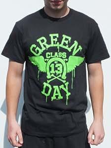 RGM808 Green Day Camiseta tamaño: MEDIO