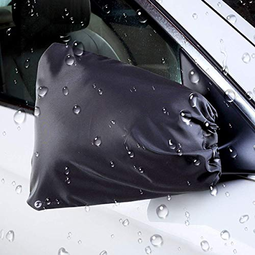 Viesyled Car Side Mirror Covers, Car Mirror Snow Covers, Auto Exterior Rear View Mirrors Snow and Ice Mirror Covers Frost Rain Guard Protector Universal Size Fits Car, SUV, CRV, Pickup, Truck