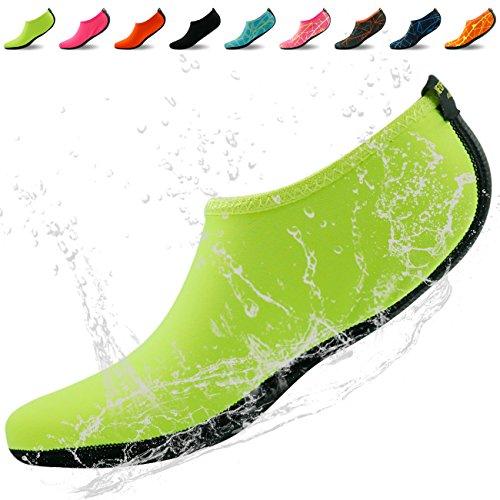 Home Slipper Barfuß Wasser Haut Schuhe Aqua Neopren Socken für Strand Pool Sand Swim Surf Yoga Schnorcheln Gelb