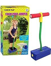 Click N' Play Foam Pogo Jumper, LED Lights