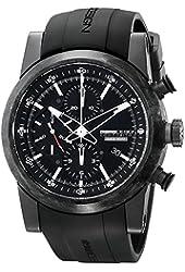 Momo Design Men's MD280CF-01BKFC Composito Analog Display Swiss Automatic Black Watch