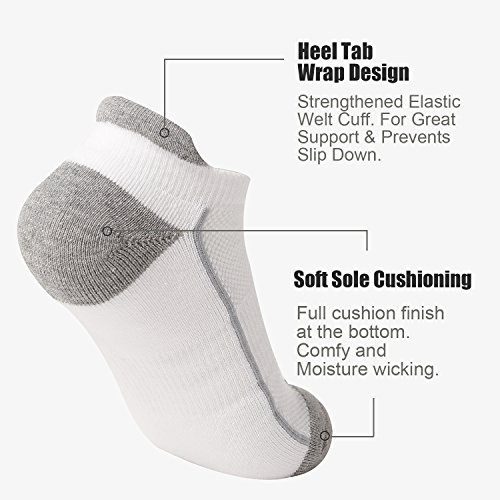 Heatuff Womens Low Ankle Socks Running No Tab