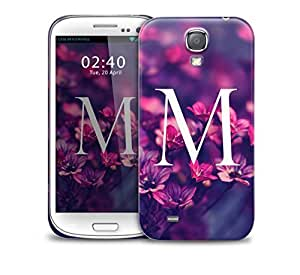 letter m Samsung Galaxy S4 GS4 protective phone case