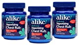 ALIKE Vaporizing Chest Rub Cough Suppressant