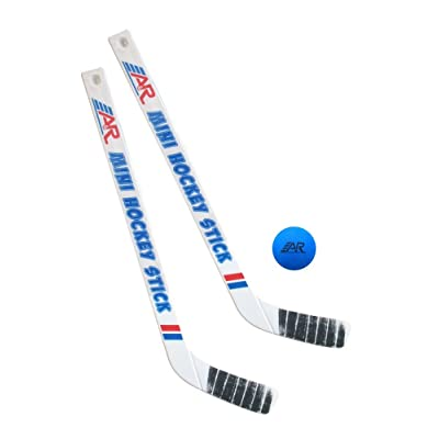 A&R Sports Team Mini Hockey 2 Piece Stick and Ball Set: Sports & Outdoors