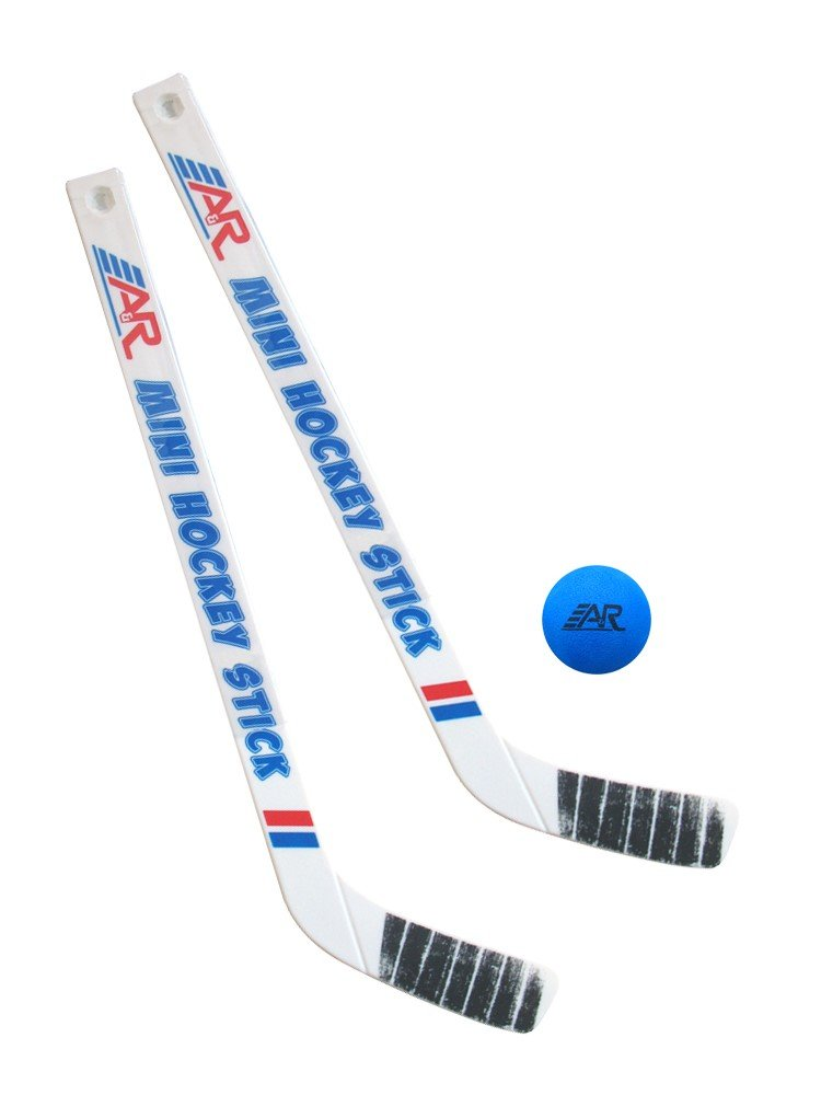 A&R Sports Team Mini Hockey 2 Piece Stick and Ball Set by A&R Sports