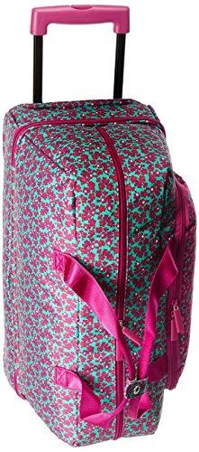 Vera Bradley Women's Wheeled Carry-on, Ditsy Dot (Vera Bradley Wheeled Luggage)