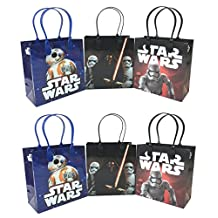Disney Star Wars The Force Awakens BB-8 12 Pcs Goodie Bags Party Favor Bags Gift Bags Birthday Bags by Disney