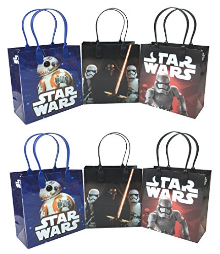 Disney Star Wars The Force Awakens BB-8 12 Pcs Goodie Bags Party Favor Bags Gift Bags Birthday Bags ()