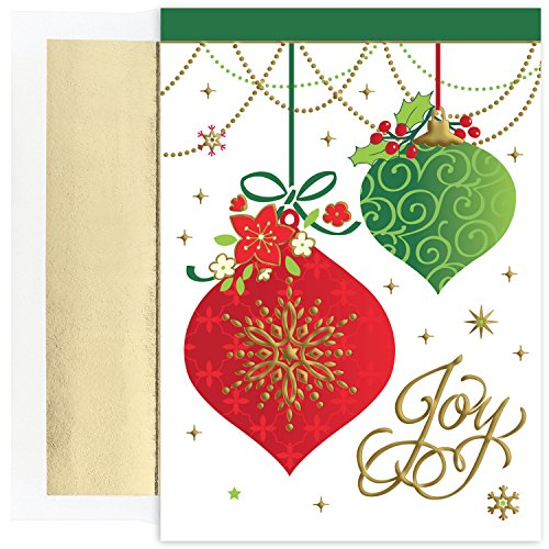 Masterpiece Studios Christmas Ornament Boxed Holiday Cards, Set of - Holiday Card Joy Boxed