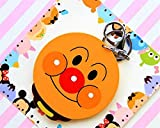 Yingealy Childrens Mirror Mini Cartoon Bread Shape Pattern Small Glass Mirrors Circles for Crafts Decoration Cosmetic Accessory