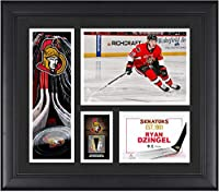 "Ryan Dzingel Ottawa Senators Framed 15"" x 17"" Player Collage with a Piece of Game-Used Puck - Fanatics Authentic Certified"
