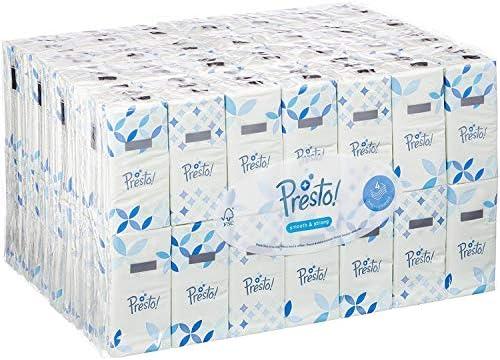 Marca Amazon - Presto! Pañuelos de 4 capas - 168 paquetes (168 x ...