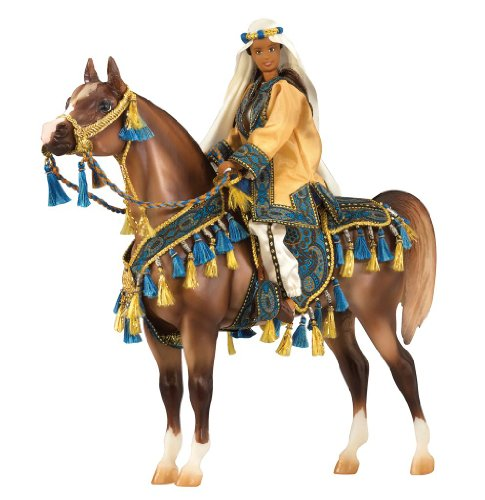 [Breyer Arabian Horse and Rider Gift Set] (Horse Costume Class)