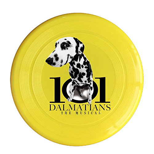 [Greenday Dalmatians High Quality Plastic Ultimate Disc Yellow] (Miley Cyrus Costume Diy)