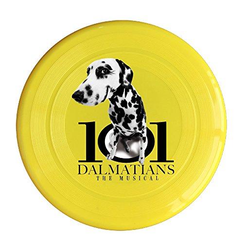 [Greenday Dalmatians High Quality Plastic Ultimate Disc Yellow] (Dalmatians Costume Makeup)