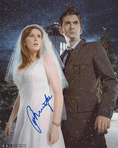 CATHERINE TATE as Donna Noble - Doctor Who GENUINE AUTOGRAPH