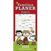 Peanuts Familienplaner 2020 21x45cm