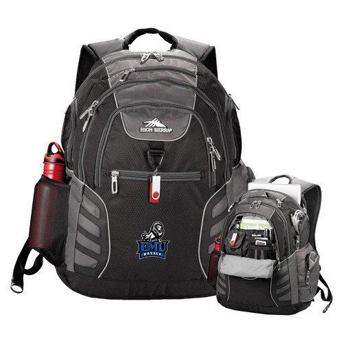 Eastern Mennonite High Sierra Big Wig Black Compu Backpack 'Official Logo' by CollegeFanGear