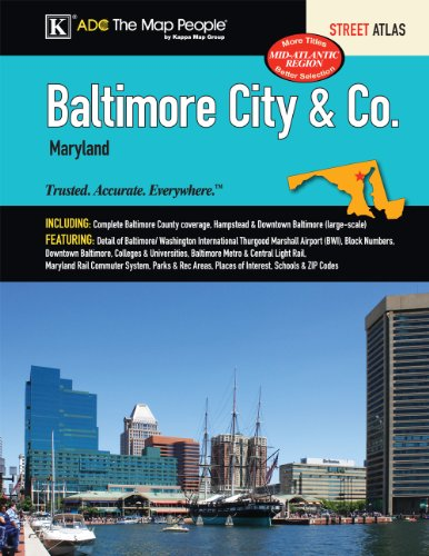 Baltimore, MD City & County Street Atlas