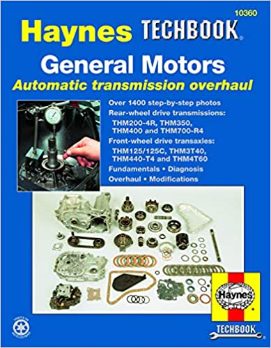 gm automatic transmission overhaul (haynes repair manuals) 2nd edition