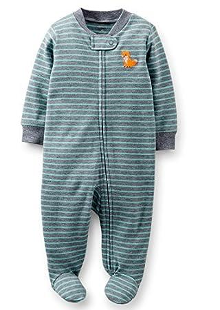 f505abd3d74a Carter s Baby Boys 1-piece Cotton Zip-up Sleep   Play (Newborn-9 ...