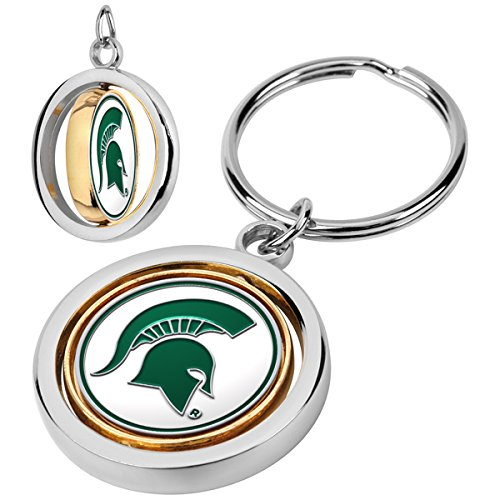 LinksWalker NCAA Michigan State Spartans - Spinner Key - Enamel Michigan