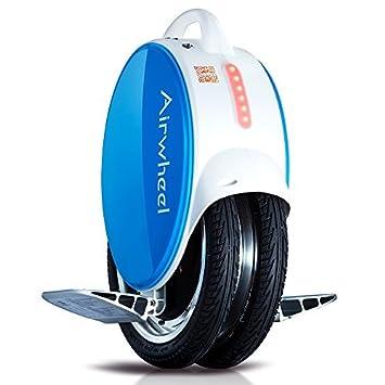 Monociclo eléctrico AIRWHEEL Q5 con luces LED y con lateral ...
