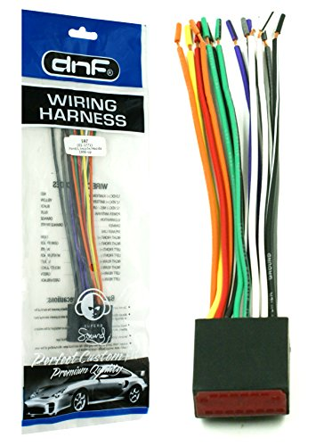 DNF Wiring Harness for Factory Stereos + Radios For Select Ford, Lincoln, Mazda Vehicles (71-1771) - 100% Copper Wires!
