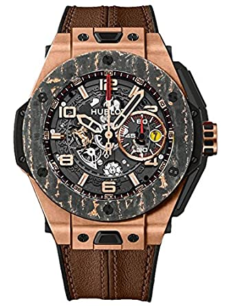 Hublot Big Bang Ferrari King Gold Carbon Limited Edition Mens Watch 401.OJ.0123