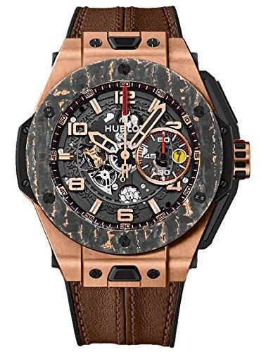 d2a1d1096b2f Hublot Grande Bang Ferrari King oro carbono edición limitada Mens Reloj  401. Oj. 0123. VR  Amazon.es  Relojes