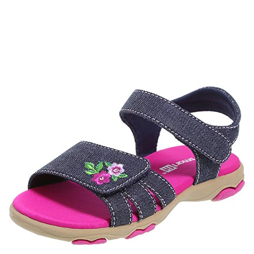 SmartFit Denim Girls' Toddler Reese Play Sandal 9 Regular - Reese Girl