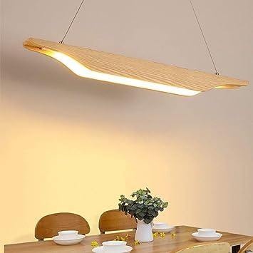 WOF Lámpara colgante LED 20W Lámpara colgante de mesa de ...